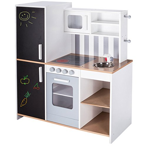 roba Kinderküche Sylt mit Tafel - Spielküche aus Holz