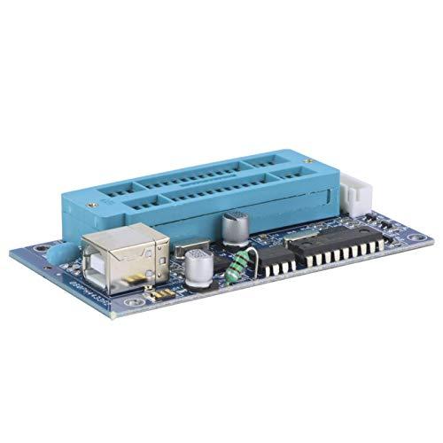 Shipenophy Programador USB K150, Quemador de Asiento de programación ZIF de 40 Pines, Programador Universal, componentes electrónicos de grabación más rápida para desarrollar microcontrolador