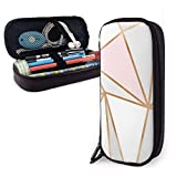 Bürobedarf & Schreibwaren Federmäppchen Gritz and Glamour Pencil Case Holder Large Capacity Pencil Pouch Stationery Organizer with Zipper for School Office,Multifunction Cosmetic Makeup Bag