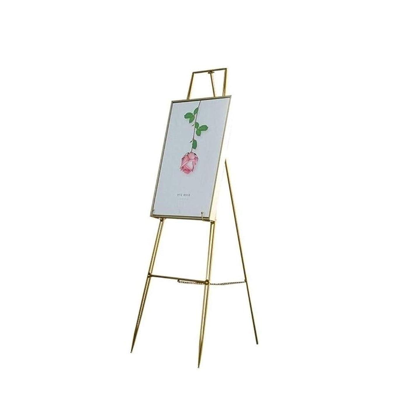 ブレークグループテクニカル三脚オフィス装飾アイアンアートイーゼル絵画双眼ディスプレイスタンド学生ギャラリーアート絵画 M-20-4-24