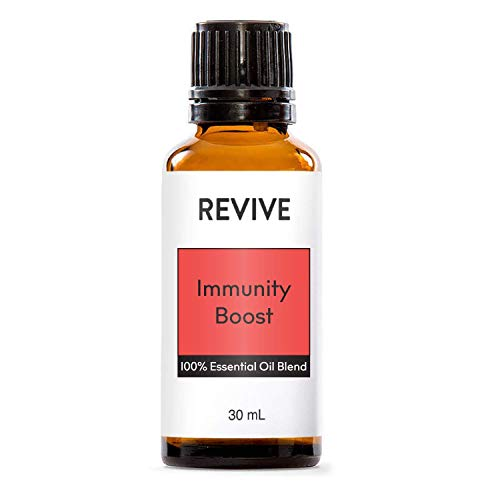 REVIVE Essential Oils IMMUNITY BOOST 30 ml - 100% Pure Therapeutic Grade, For Diffuser, Humidifier, Massage, Aromatherapy, Skin & Hair Care - Cruelty Free - Unrefined Oils With No Fillers.