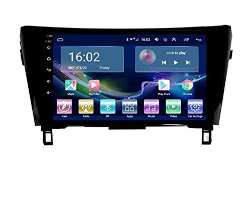 ZBHWYD Adecuado para 13-16 Modelos de Nissan Qijun Qashqai instalados GPS Navigator, 2GB + 32GB de navegación GPS Audio Video Multimedia Broadcast Player