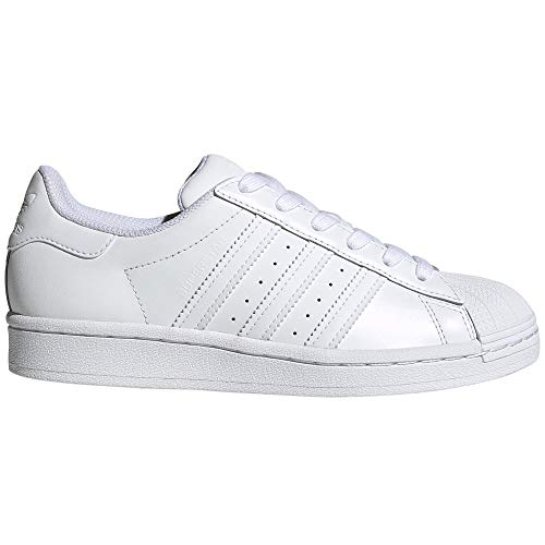 adidas Superstar Autentic Blancas para Mujer de Piel. Sneakers.4g (Nuage Blanc au Total, Fraction_39_and_1_Third)
