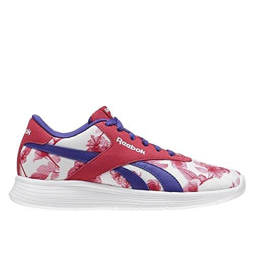 Reebok Mädchen Royal Ec Ride Flor Sneaker, Pink (Rosa Pink Craze/Team Purple/White), 22.5 EU