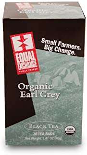 Equal Exchange Organic Earl Grey Tea, 20-Count (Pack of 3) by Equal Exchange