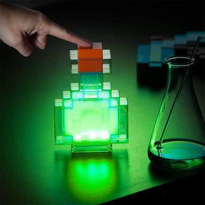 Creativa Noche Botella de la poción luz se Enciende y Cambia Entre 8 Colores Diferentes Shake Noche Control de la lámpara del Juguete de Cambio de Color de la Botella