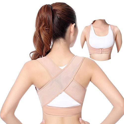 BEIBEI Haltungskorrektur Rückenstabilisator für Damen Geradehalter zur Haltungskorrektur Rückenstütze Verstellbare Obere Rückenstütze Haltungstrainer