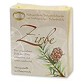 Florex Kaltgerührte Schafmilchseife - Zirbe - angenehmer aromatischer Duft des Zirben Baumes 150 g
