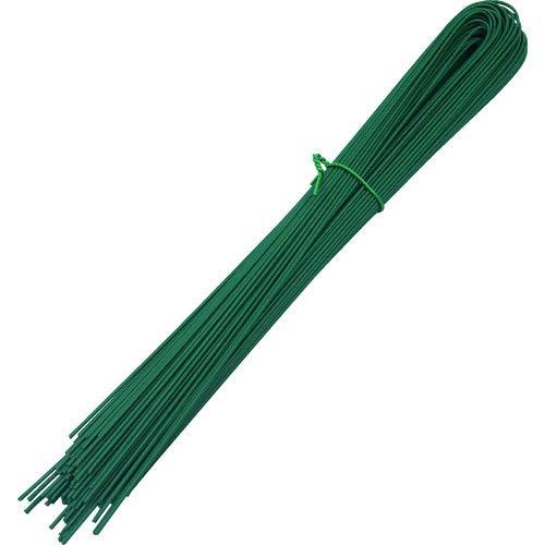 トラスコ中山 錆びに強いU字被覆結束線 緑色 450mm 約210g TUAW-450-GN