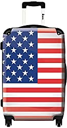 Hardside Spinner Luggage - Stars and Stripes