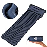 Unigear Ultralight Inflatable Sleeping Pad, Compact Air Camping Mat for Backpacking, Hiking