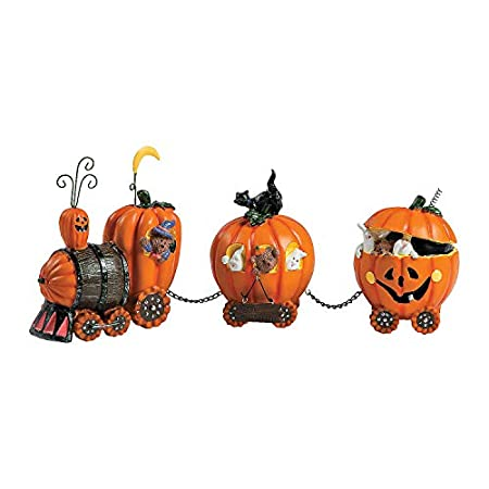 Pumpkin Express Train - Halloween Decoration Ideas