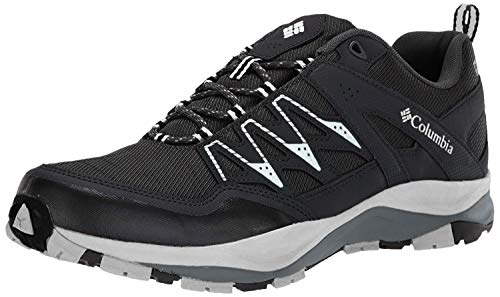 Columbia Men's WAYFINDER Outdry Hiking Shoe, Black, Lux, 10.5