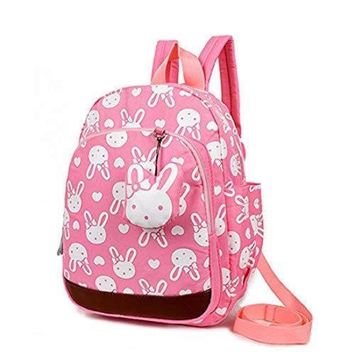 AnTeck Borsa a tracolla per bambini rosa Rabbit Cute Kids