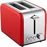 Sooiy Inicio Desayuno Tostadora, Modo de cocción máquina de Pan 2 Ranura de 6 velocidades - Completamente automático...