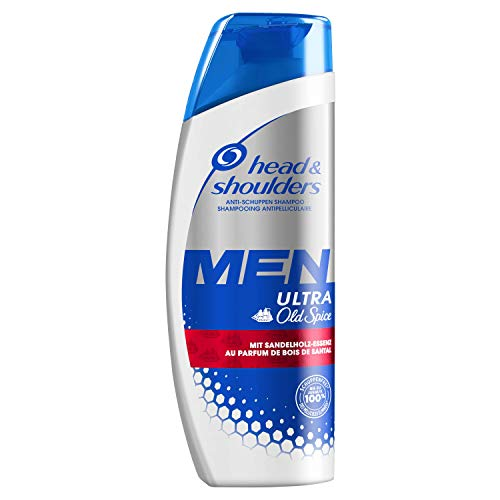 Head & Shoulders Men Ultra Old Spice Anti-Schuppen Shampoo, 250ml, Mit Sandelholz-Essenz