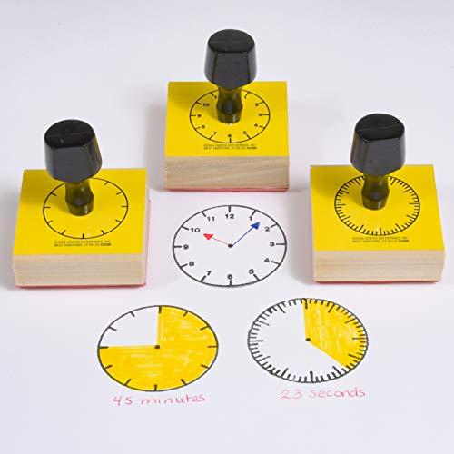CENTRE ENTREPRISES CE-099 STAMP SET 3 NUM-RAL CLOCK-5-MIN./60-MIN./HOUR