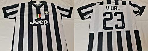 Perseo Trade Maglia Calcio Juventus Paul Pogba/Arturo Vidal/Fernando LLORENTE 1 Maglia A Scelta Taglia XL Prodotto Ufficiale FC Juventus Stagione 2014/15