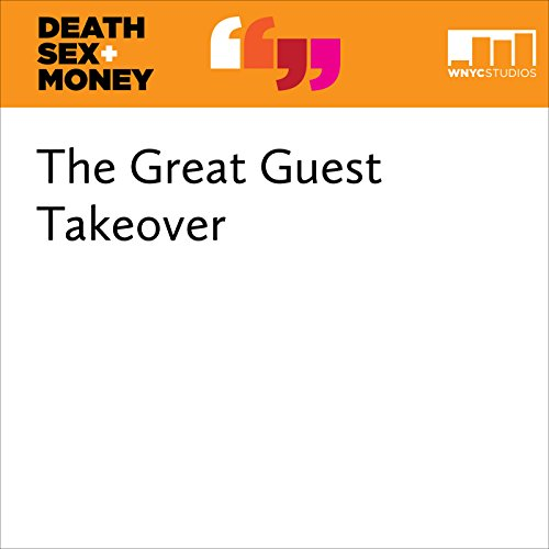 The Great Guest Takeover audiobook cover art