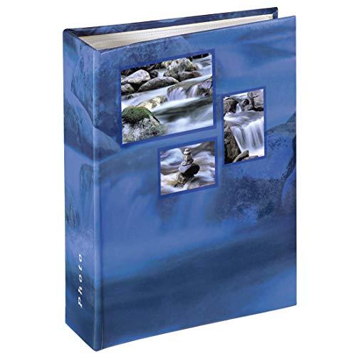 Hama 106263-Álbum para Pegar, álbum de Fotos, 100 páginas, Color Azul, 10x15