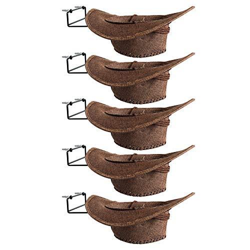 YYST Cowboy Hat Rack Cowboy Hat Holder Coyboy Hat Organizer 5PK- No Cowboy Hat