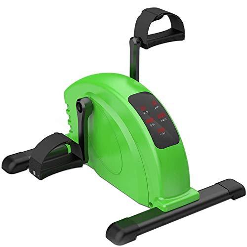 LOVEHOUGE Mini Ejercitador De Pedal Eléctrico De Bicicleta Estática para Piernas Y...