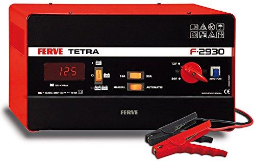 FERVE F-2930 Tetra Cargador 12-24V 15-30A, 0