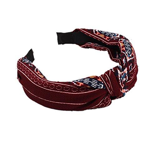iTemer Haarband, Haarreif, Kopfband, für tägliche, makeup-red,
