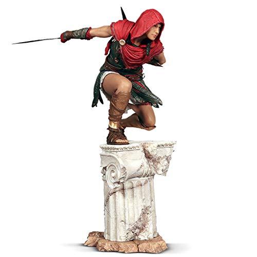 LRWTY Assassins Creed Odyssey - Meister-Assassine Kassandra Atcion Figur Figur Sammlung von Spielen Geschenke 33cm POP