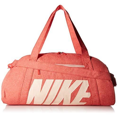 Nike W Nk Gym Club, Borsone Donna, Multicolore (Embr Glw/Wshd Coral), 24x15x45 Centimeters (W x H x L)