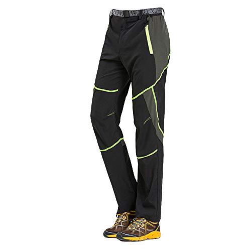 VPASS Pantalones para Hombre,Pantalones de Trekking Softshell Pantalones Impermeables Resistente Pantalones de Escalada Deportes al Aire Libre Pantalones Trabajo Pantalones Jogging Pants