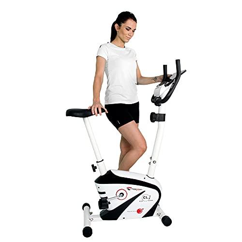Christopeit Sport Heimtrainer CL 2 - 8-stufiger Widerstand, bis 100kg Gewicht, 5kg Magnet-Bremssystem, LCD-Display