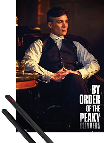 1art1 Peaky Blinders Póster (91x61 cm) by Order of The Y 1 Lote De 2 Varillas Negras