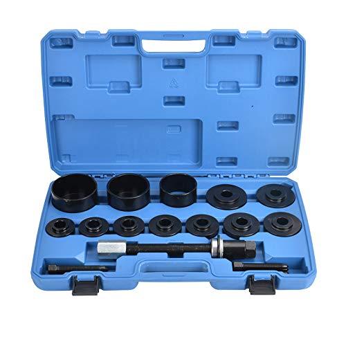 AllRight 26 TLG Radlager Werkzeug Set Abzieher Alle Gängigen Radlagerabzieher Radnabe Abzieher Ausdrücker Montage Demontage
