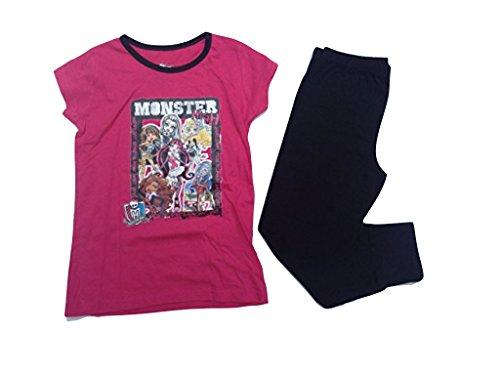 Monster High Schlafanzug in pink (140)