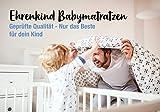 Ehrenkind® Babymatratze Kokos | Baby Matratze 70x140 | Kindermatratze 70x140 mit hochwertigem Schaum, Kokosplatte und Hygienebezug - 4
