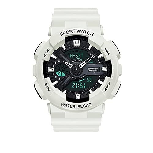 Lvmiao Reloj de Verano Unicornio, Estudiantes de la Escuela Secundaria Moda Big Dial Tendent Watch, Reloj de Cuarzo de cinturón de Cuero Impermeable,11