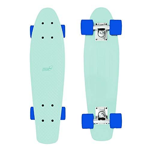 Skateboard bambino Skateboard adulto professionale ragazzo cruiser bambini skate ragazza carver skateboard penny board (LUMEN GLOW)