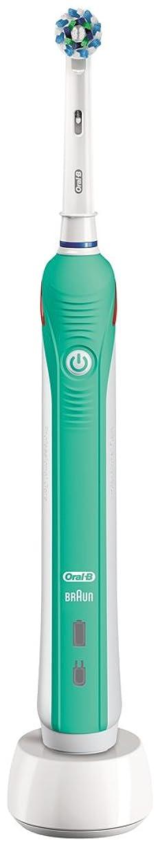 ブラウン オーラルB 電動歯ブラシ PRO 1000 D205132M GR グリーン
