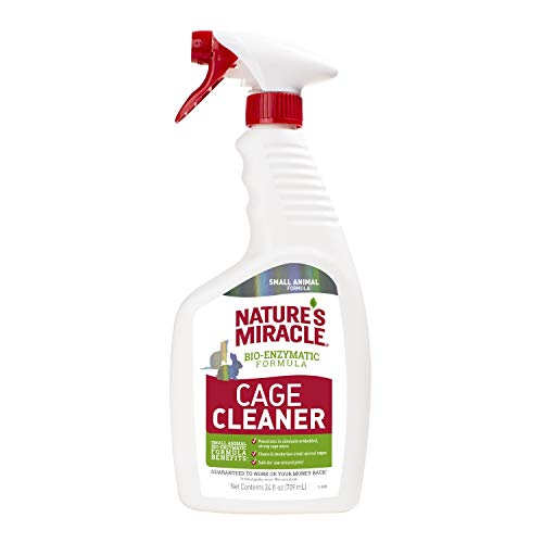 Nature's Miracle Cage Cleaner 24 fl oz, Small Animal...