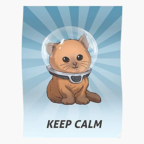 boscovs Keep Calm Kitty Subnautica Das eindrucksvollste und stilvollste Poster für Innendekoration, das derzeit erhältlich ist