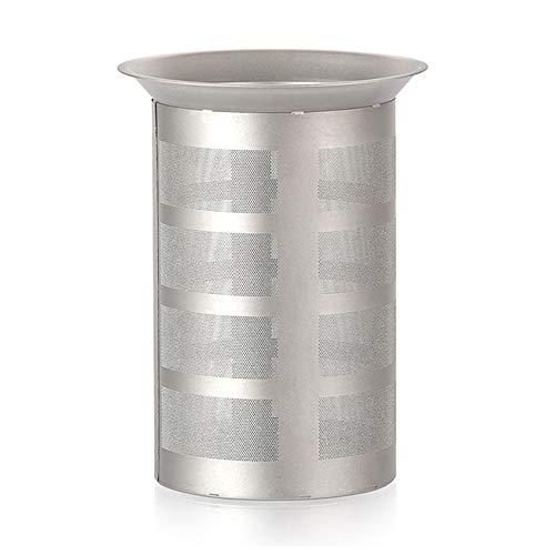 Anself Cesta de infusor de chá de malha de titânio para copo de chaleira de chá bule