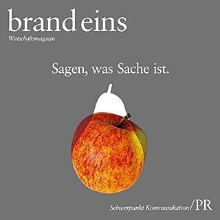 brand eins audio: Kommunikation/PR Titelbild