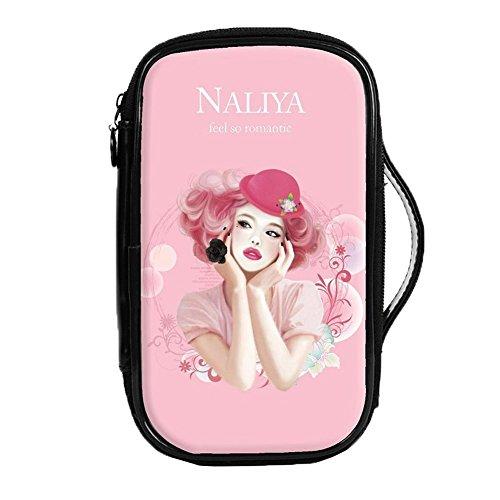 Mode étanche Cas de maquillage de Voyage sac cosmétique de toilette, Pink Girl