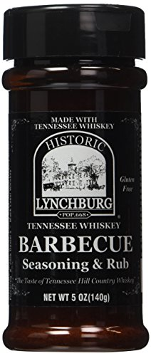 Historic Lychburg Tennessee Whiskey Barbecue Seasoning & Rub