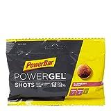 PowerBar Gel Shots mit Kohlenhydraten - Energie Gummis - Raspberry 60g -