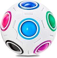 Rainbow Ball Magic Cube Holes Magic Rainbow Ball Puzzle