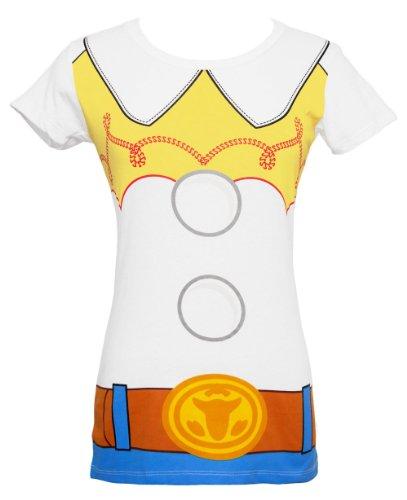 Disney I am Jessie Toy Story Costume T-Shirt (Medium, Jessie)
