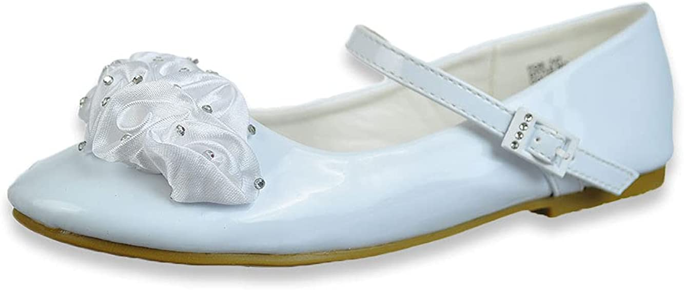 Angels New York Girls' Tulle Mary Jane Shoes