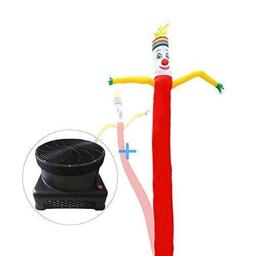 WCY Sky Air Puppet Werbung aufblasbarer Schlauch Geist, Fliegende Fee 20 Fuß Open House Sky Dancer mit 1 PS Blower, Weihnachten Halloween dekorative Zeichen yqaae (Size : 13.2ft/4m)